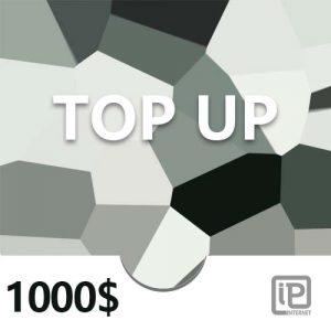 Top Up 1000$