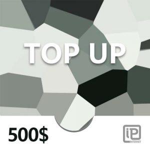 Top Up 500$