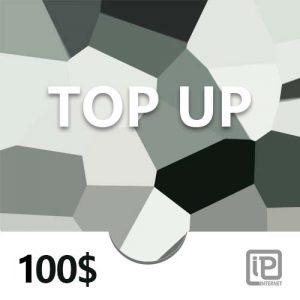 Top Up 100$